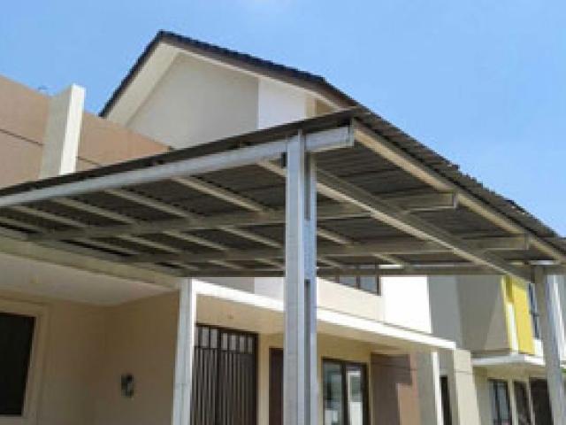 Model kanopi terbaru untuk rumah minimalis