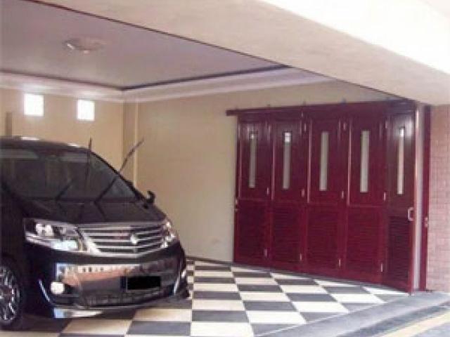 Cara membuat desain pintu garasi lipat
